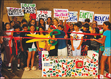 """CMS Joins """"Peace on Earthbench"""" Movement"""
