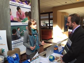 Despite Snow International Educators converge in Boston to Teach Overseas