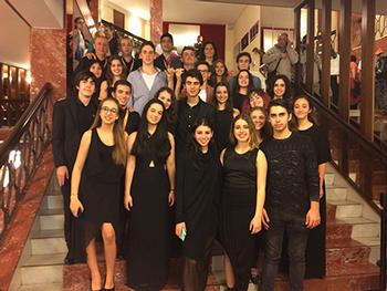 Hisar School Band Wins 1st Place at San Remo