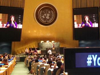 Youth Involvement with the United Nations