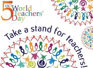 Chalk Walk 2015 to Mark World Teachers' Day