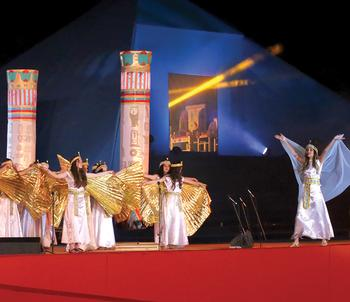 """MES Cairo Celebrates 25 Years by Staging """"Aida"""""""