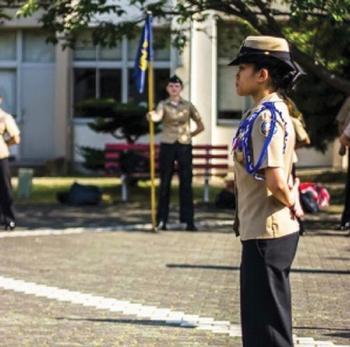 Kinnick Navy JROTC Cadet Receives Prestigious Award
