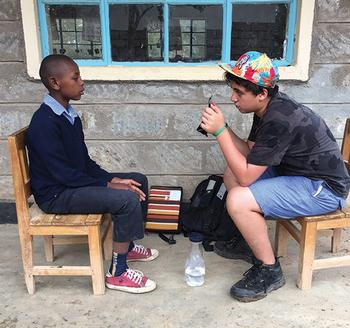 Life, Lessons, and Laughter: Digital Storytelling in Kenya