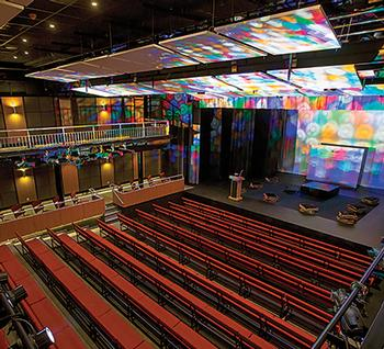 From Gymnasium to Cutting-Edge Theater