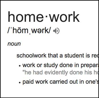 Getting  Homework Done Right
