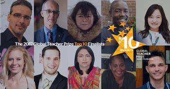 Global Teacher Prize Finalists Announced
