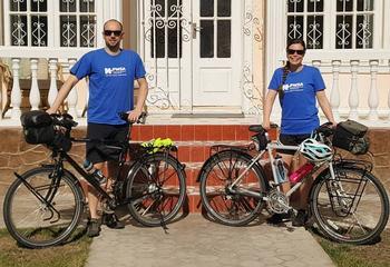 Biking Around the World on a Mission