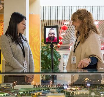 Western Academy of Beijing Offers Interactive Robotic Tours