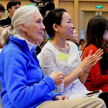 Jane Goodall Visits QSI International School of Chengdu