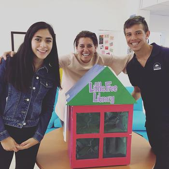 Classroom Product Design Challenge Creates Little Free Library