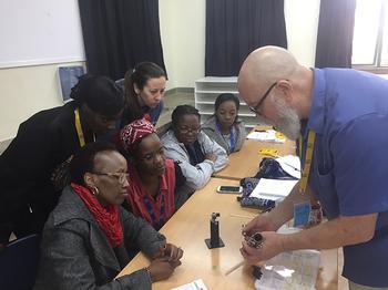 Instrument Repair Workshop at ISK