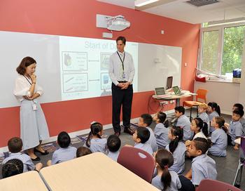 Teaching the Teachers at YCIS Beijing