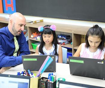 Hybrid Teachers for Hybrid Learners