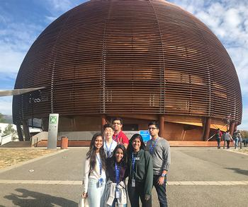 ISM Students Seek Cures for  Cancer at the Nuclear Level