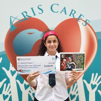 ARIS Cares about Operation Smile