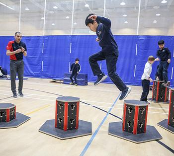 Fostering Creative Movement and Critical Thinking Through Parkour at Concordia