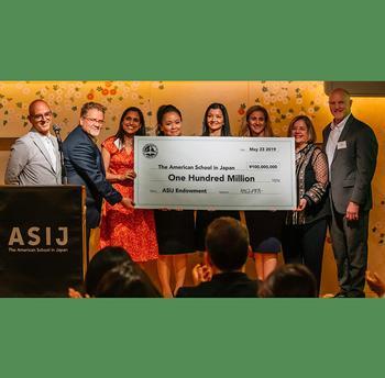 ASIJ Receives ¥100 Million Endowment Gift