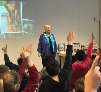 Author Visits Create Excitement About Books