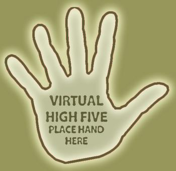 The Sound of One Hand High-Fiving