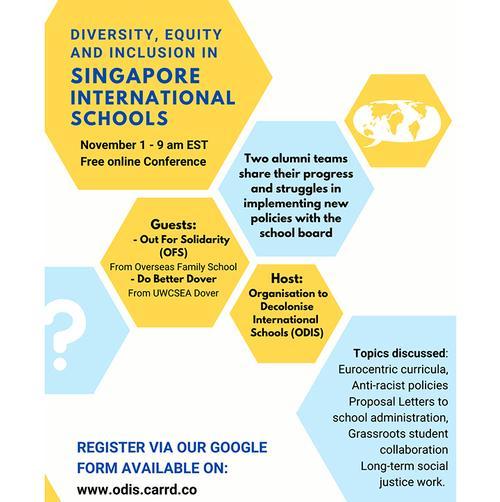 Organisation to Decolonise International Schools