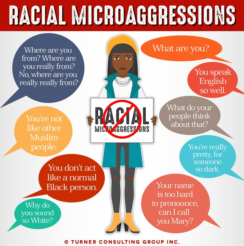 Where Are You From? Your English Is So Good! Microaggressions from Both Sides of the Pacific