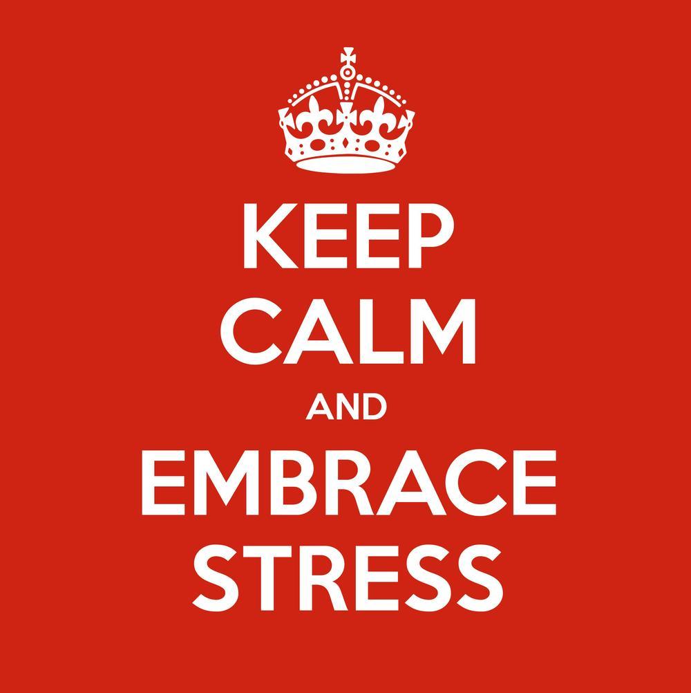 Keep Calm and Embrace Stress!