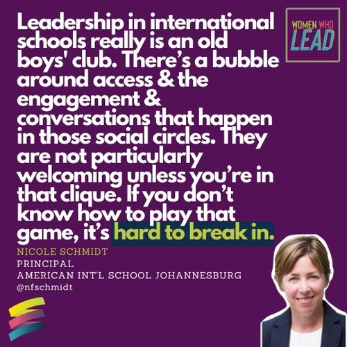 Addressing the Elephant in the Room: The Old Boys Club in International School Leadership