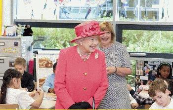 Hosting the Queen in Aberdeen