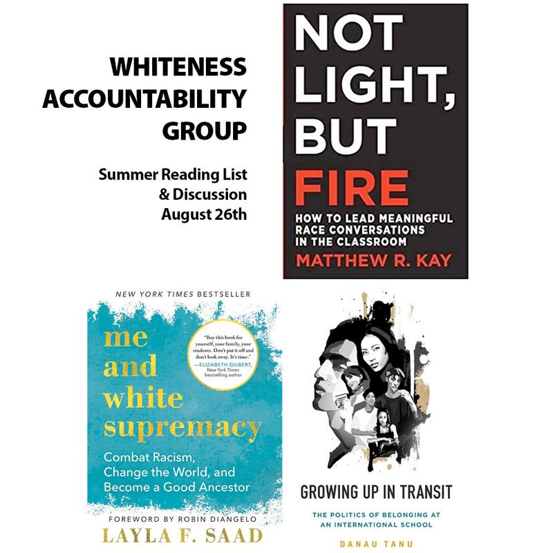 Book Selections: Whiteness Accountability Group for International Educators