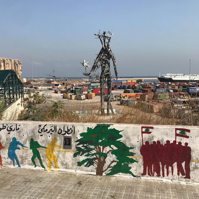 A School Community One Year On: Beirut Port Explosion