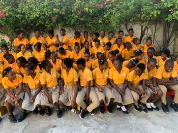 COHP - Our Children in Haiti: Shaken Up, But All OK!