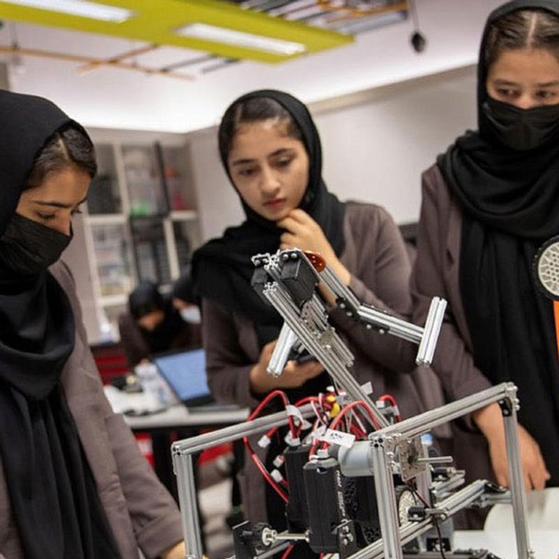 All-Female Afghan Robotics Team Receive Scholarships