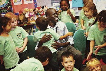A Special Visitor to Mont' Kiara International School