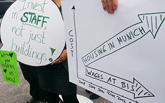 Germany: Teachers Strike at BIS
